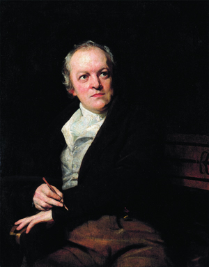 William Blake (1757–1827), painted by Thomas Phillips, 1807