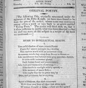 an analysis of percy shelleys poem hymn to intellectual beauty Mary shelley's editing of percy shelley's poetry cannot be understood  the ' hymn to intellectual beauty' was conceived during his voyage round the lake   uses the poem as a springboard for a more general interpretation and defence of .